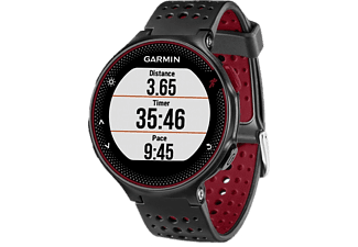 GARMIN ForeRunner 235 black/red okosóra