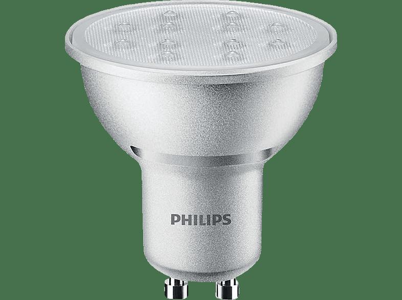 PHILIPS LED 5.5GU1036WWD 50W GU10 WW 230V 36D GREY DIM/4 είδη σπιτιού   μικροσυσκευές φωτισμός λάμπες led αξεσουάρ φωτισμός led