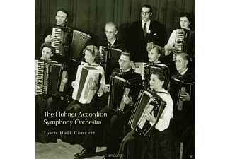The Hohner Accordion Symphony Orchestra, VARIOUS - Town Hall Concert [CD]