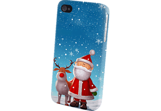26110 Backcover Apple iPhone 4/iPhone 4s Kunststoff Weihnachtsmann