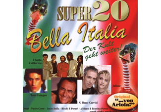 VARIOUS - Super 20-Bella Italia [CD]