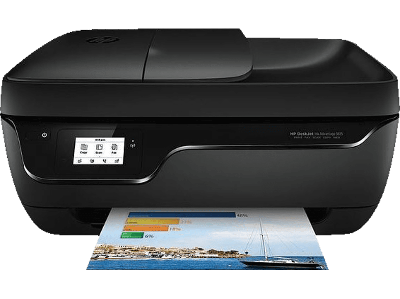 HEWLETT PACKARD DeskJet Ink Advantage 3835 All-In-One Printer - Inkjet πολυμηχάν laptop  tablet  computing  εκτύπωση   μελάνια πολυμηχανήματα