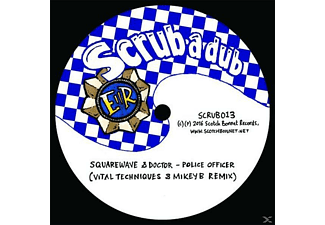 Squarewave & Doctor M Vital Techniques & Mickey B - Police Officer/Boomsound Ep - (Vinyl)