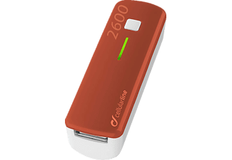CELLULAR LINE 37131 Pocket, Powerbank, Rot