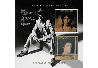 Eric Carmen - Boats Against The Current/ Change Of Heart - (CD)