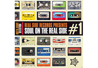 VARIOUS - Real Side Records Presents: Soul On The Real Side #1 - (CD)