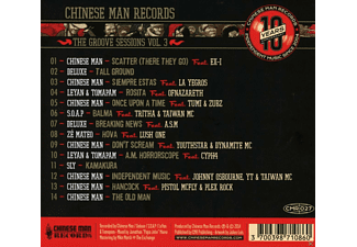 The Chinese Man - The Groove Sessions Vol.3 - (CD)