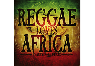 VARIOUS - Reggae Loves Africa - (CD)