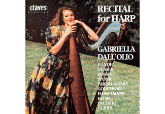 Gabriella Dallolio - Recital For Harp - (CD)