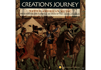 VARIOUS - Creation S Journey, Native American - (CD)