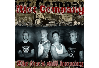 "Riot Company - The Fire's Still Burning (7"" Single) - (Vinyl)"