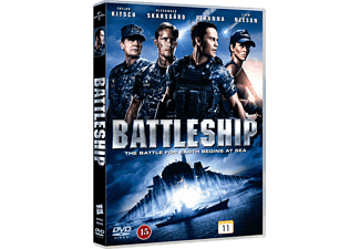 Battleship Science Fiction DVD