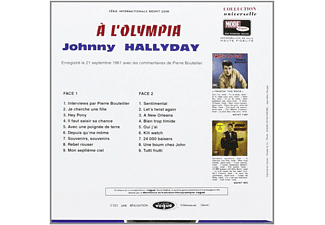 - Johnny Hallyday A L'olympia - (CD)