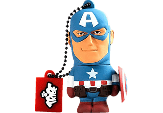 TRIBE USB Stick Captain America 16GB - (FD016501)