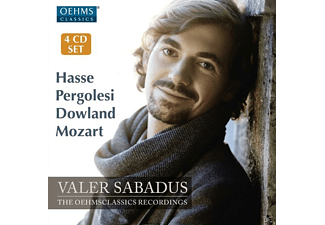 Valer Sabadus, Various - The OehmsClassics Recordings - (CD)