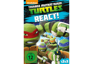 Teenage Mutant Ninja Turtles React - Staffel 3.3 - (DVD)