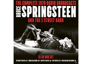 Bruce Springsteen, The E Street Band - The Complete 1978 Radio Broadcasts (15CD-Box) - (CD)