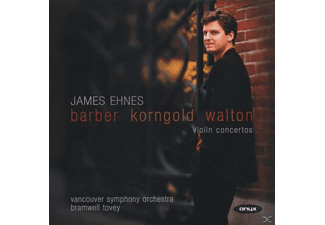 James Ehnes - VIOLIN CONCERTOS - (CD)