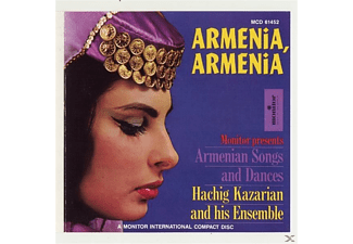 Hachig Kazarian - Armenia,Armenia: Armenian Songs and Dances - (CD)