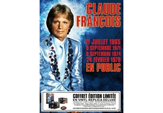 Claude Francois - Box En Public 1965-1971-1974-1978 - (CD)