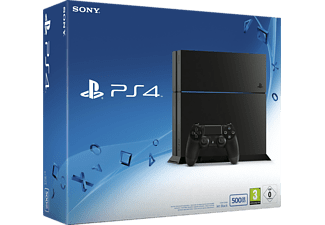 sony playstation 4 konsole cuh 1216a 500gb schwarz neu cuh. Black Bedroom Furniture Sets. Home Design Ideas