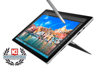 MICROSOFT Surface Pro 4 (Core i7, 256 GB SSD och 16 GB RAM)