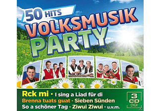 VARIOUS - Volksmusik Party-50 Hits - (CD)