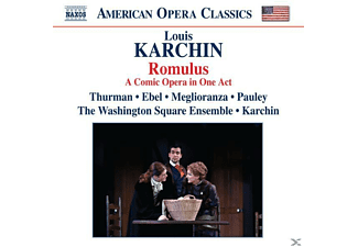 Karchin, Thurman, Ebel, Karchin/Thurman/Ebel - Romulus (1990) - (CD)
