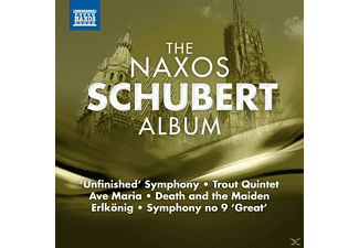 VARIOUS - The Naxos Schubert Album - (CD)