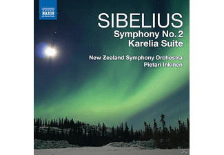 Pietrari & New Zealand So Inkinen - Sinfonie 2/Karelia Suite - (CD)