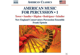 VARIOUS, Epstein/Schuller/New England Conservatory - American Music for Percussion 1 - (CD)