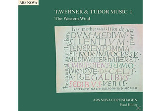 Hillier/Ars Nova Copenhagen - The Western Wind - (CD)