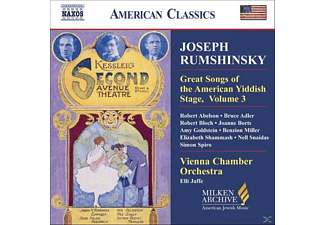 VARIOUS - Great Songs Of The Yiddish Stage - (CD)