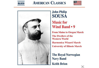 Brion, Royal Norwegian Navy Band, Brion & Royal Norwegian Navy Band - Music for Wind Band Vol.9 - (CD)