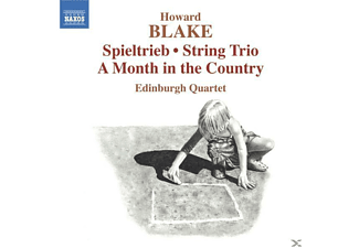 The Edinburgh Quartet - Spieltrieb/A Month in the Country - (CD)