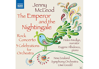 New Zealand So, Medlyn, Albulescu, Grodd, Medlyn/Albulescu/Grodd/New Zealand SO - Emperor and the Nightingale/Rock Concerto - (CD)