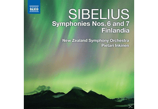 Pietari & New Zealand So Inkinen - Sinfonien 6+7 - (CD)