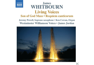 Jordan/Powell/Cowan/+ - Living Voices/Son of God Mass/Requiem - (CD)