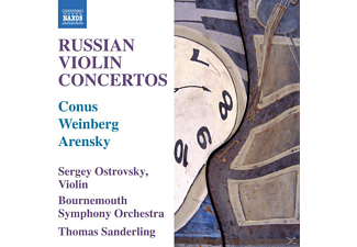 Thomas Sanderling, Sergey Ostrovsky, Bournemouth Symphony Orch, Ostrovsky/Sanderling/Bournemouth SO - Russische Violinkonzerte - (CD)