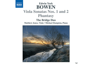 Michael Hampton, Bridge Duo, Matthew Jones - Bratschensonaten 1+2 - (CD)