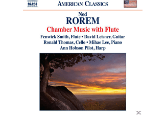 Ned Rorem, SMITH/LEISNER/THOMAS/LEE - Kammermusik mit Flöte - (CD)