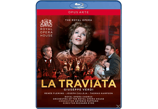 Pappano/Fleming/Calleja/Hampson - La Traviata - (Blu-ray)