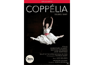 Kessels/Opera National de Paris - Coppelia - (DVD)