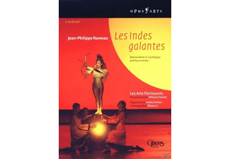 VARIOUS, Christie/Niese/Fernandes/+ - Les Indes Galantes - (DVD)