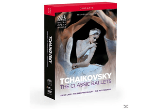 VARIOUS, Orchestra Of The Royal Opera House - The Classic Ballets [DVD]