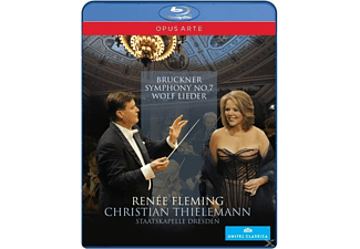 Fleming/Thielemann/Staatskapel, Fleming,Renée/Thielemann,Christian/SD - Sinfonie 7/Lieder [Blu-ray]