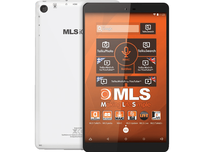 "MLS Ideal Tablet 8"" HD 4core 8GB WiFi computing   tablets   offline tablets android tablets laptop  tablet  computing"
