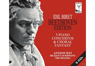 Idil Biret, Wit Antoni, Bilkent Symphony Orchestra - Beethoven: Complete Piano Concertos & Choral Fantasy - (CD)