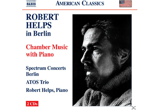 Spectrum Concerts Berlin, Atos Trio, Robert Helps, Spectrum Concerts/Helps/Atos Trio - Robert Helps in Berlin - (CD)