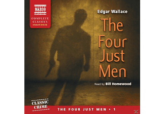 The Four Just Men - 4 CD - Hörbuch